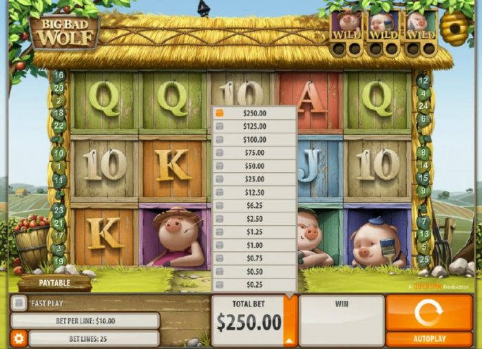 Big Bad Wolf by All Online Pokies