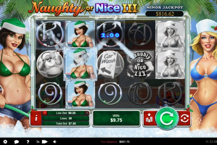 Naughty or Nice III screenshot