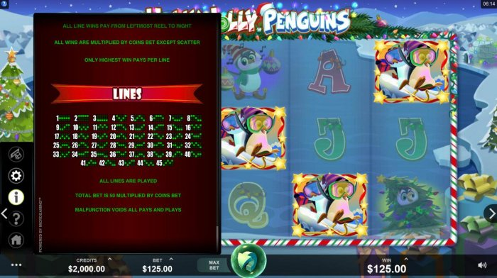 All Online Pokies - Paylines 1-45
