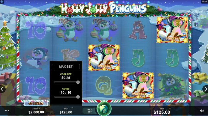 Images of Holly Jolly Penguins