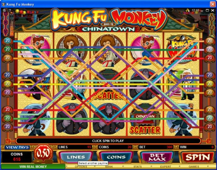 Kung Fu Monkey by All Online Pokies