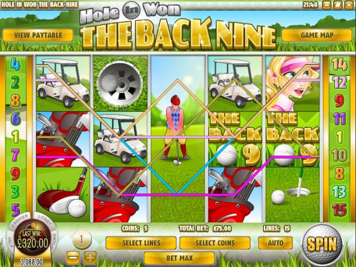 All Online Pokies image of The Back Nine