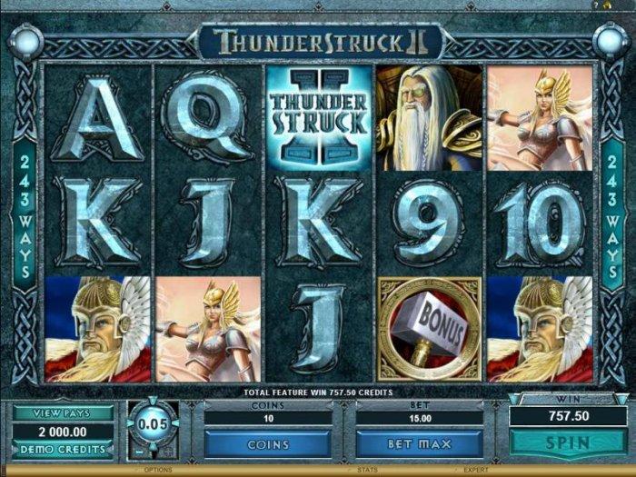Thunderstruck II by All Online Pokies