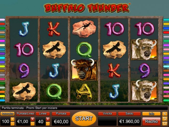 Buffalo Thunder by All Online Pokies