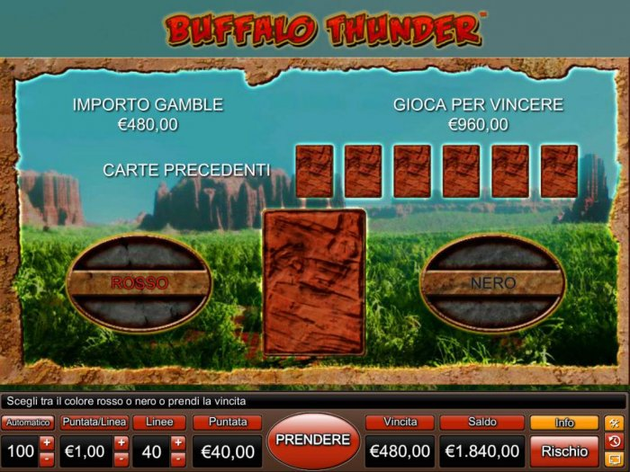 All Online Pokies image of Buffalo Thunder