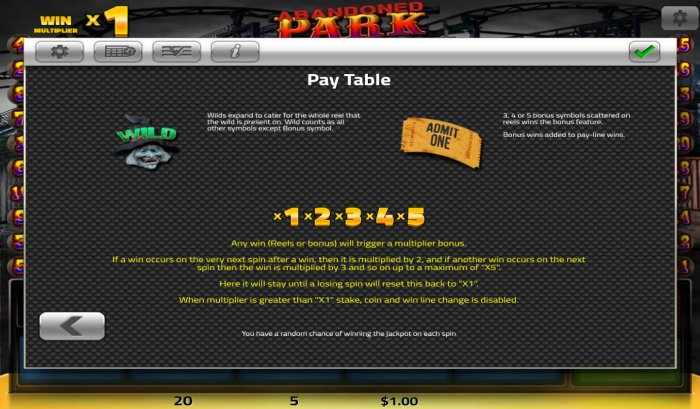 All Online Pokies image of Abandoned Park