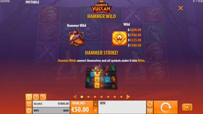 Hammer of Vulcan by All Online Pokies