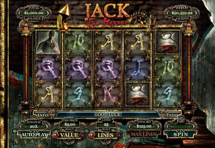 Jack the Ripper by All Online Pokies