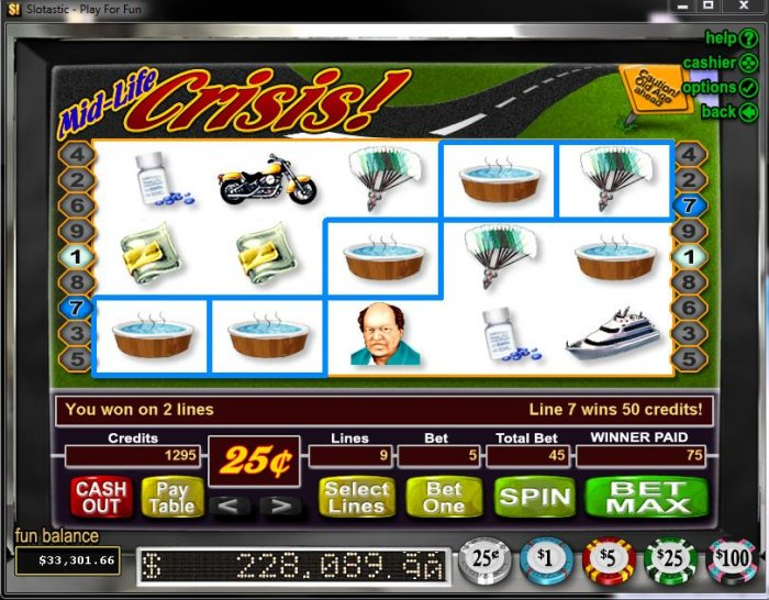 Mid-Life Crisis by All Online Pokies