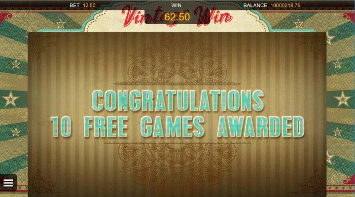 All Online Pokies image of Vintage Win