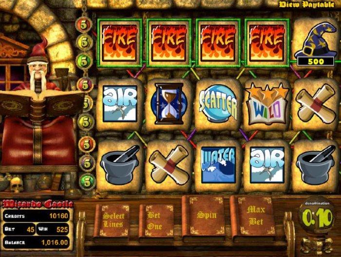 Wizard's Castle by All Online Pokies