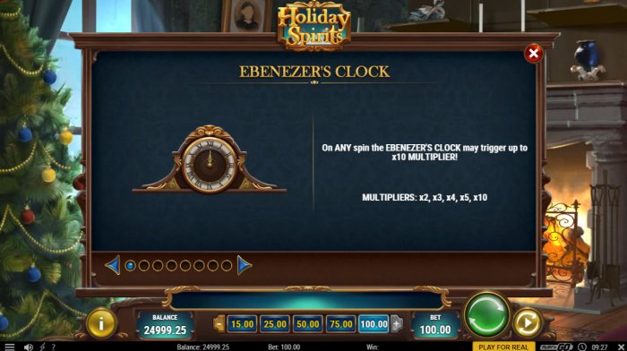 All Online Pokies image of Holiday Spirits