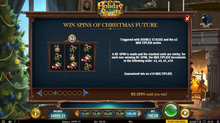 Wins Spins of Christmas Future by All Online Pokies