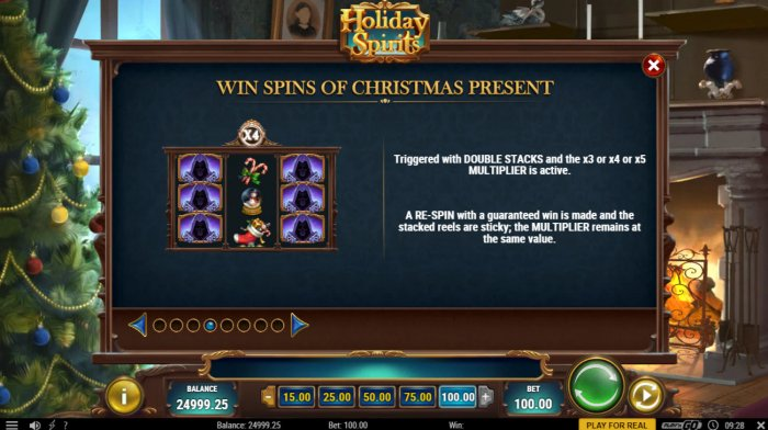 Wins Spins of Christmas Present - All Online Pokies