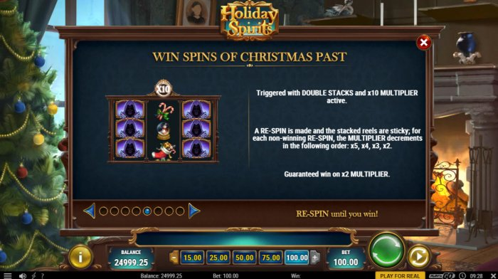Wins Spins of Christmas Past - All Online Pokies