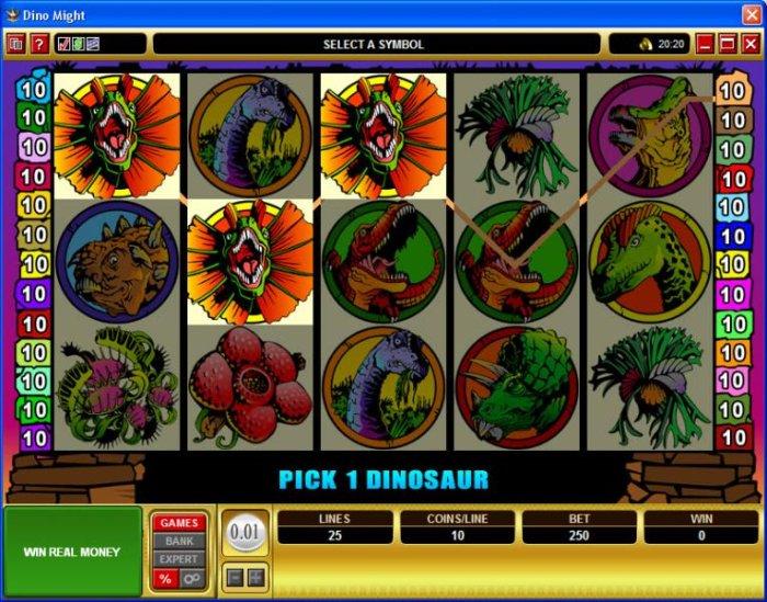 Dino Might screenshot