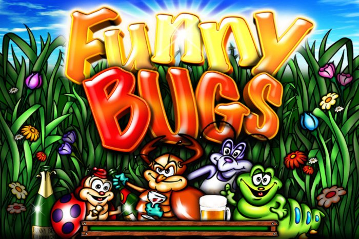 Funny Bugs by All Online Pokies