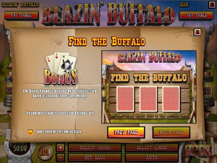 All Online Pokies image of Blazin' Buffalo
