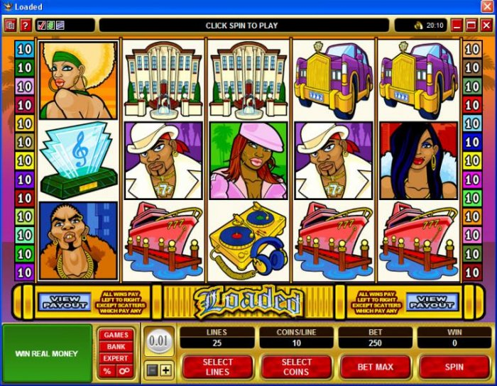 All Online Pokies image of Loaded