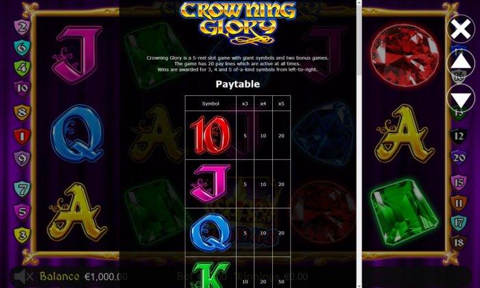 Crowning Glory screenshot