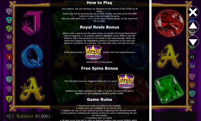 All Online Pokies - Bonus Game Rules