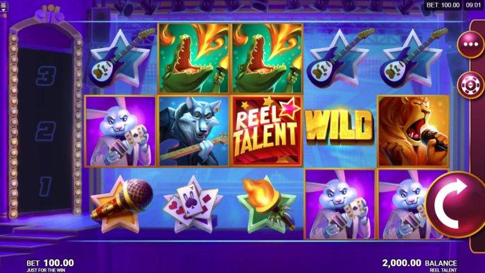 Reel Talent screenshot