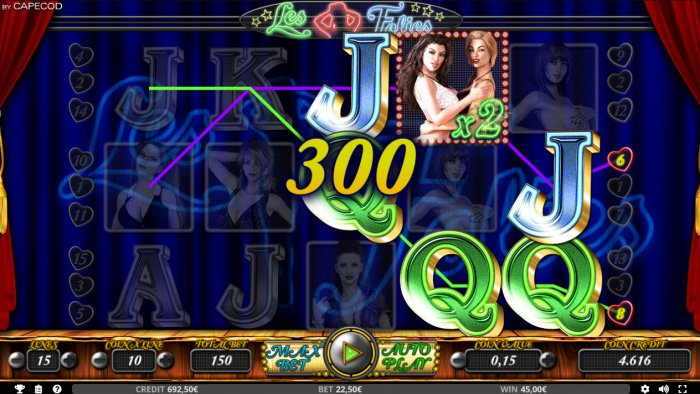 Les Folies by All Online Pokies