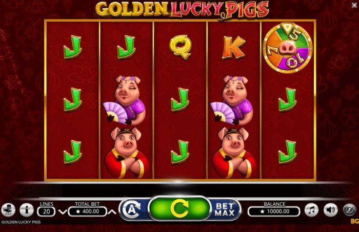 Golden Lucky Pigs by All Online Pokies