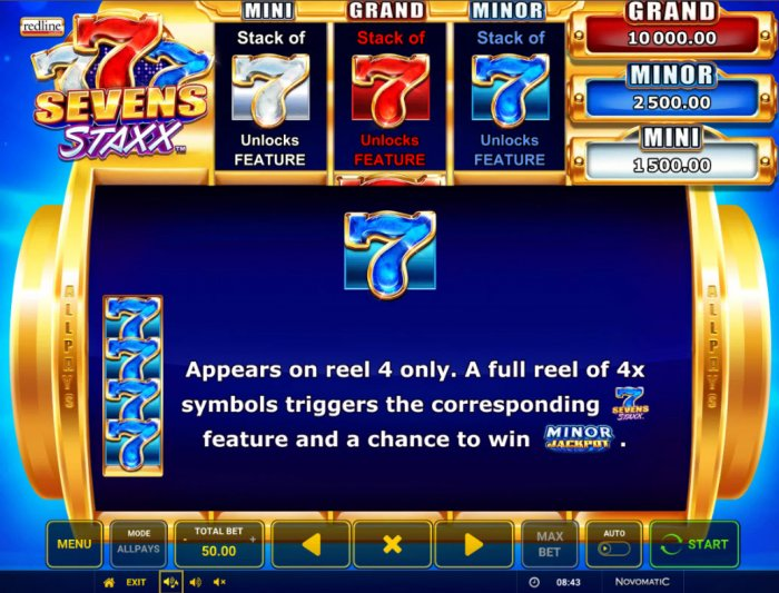 Blue Seven by All Online Pokies