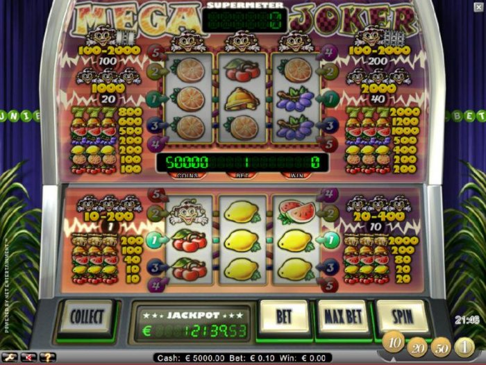 Mega Joker by All Online Pokies