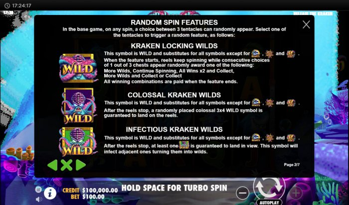 Random Spin Features - All Online Pokies