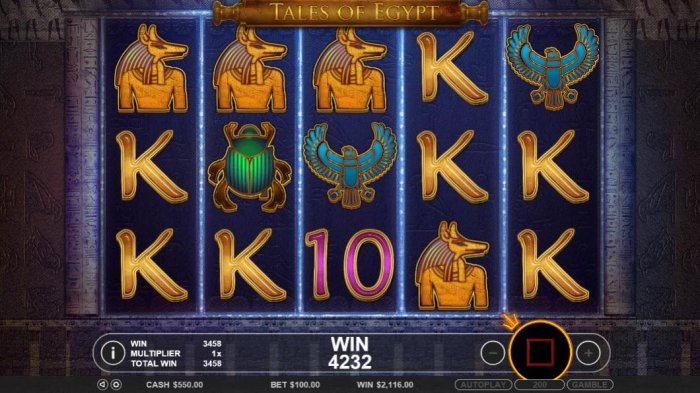 All Online Pokies image of Tales of Egypt
