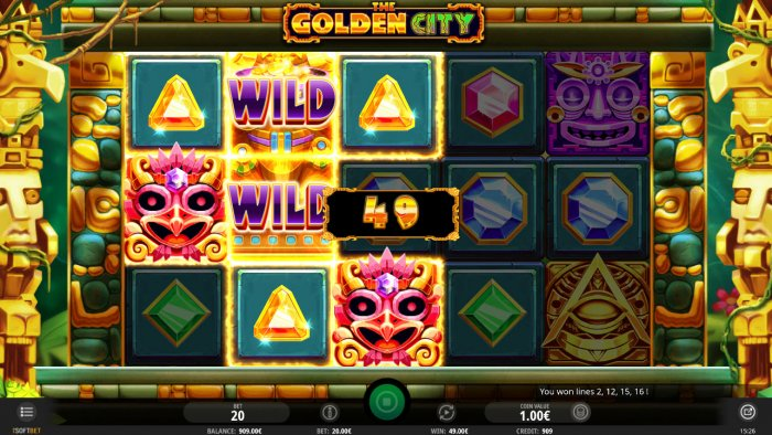 All Online Pokies image of The Golden City