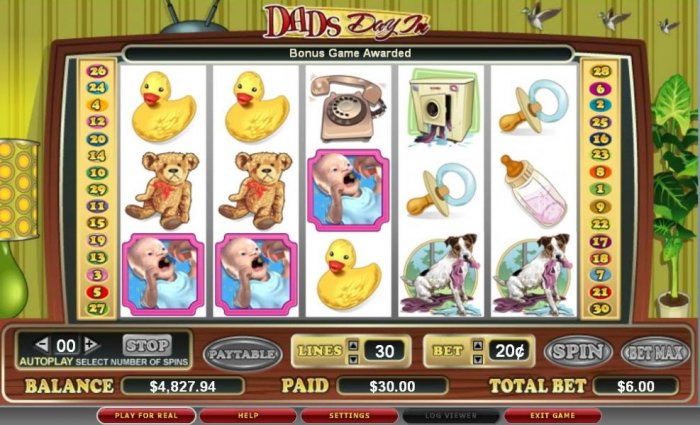 Dad's Day In by All Online Pokies