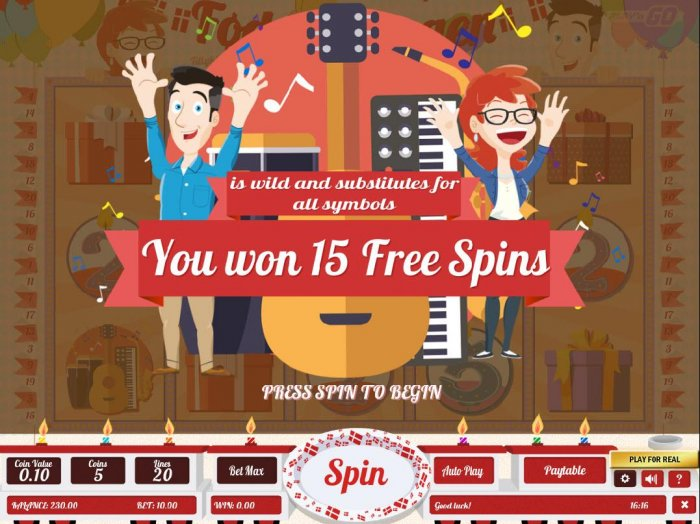 15 Free Spins Awarded by All Online Pokies