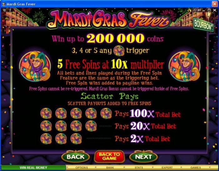 Mardi Gras Fever screenshot