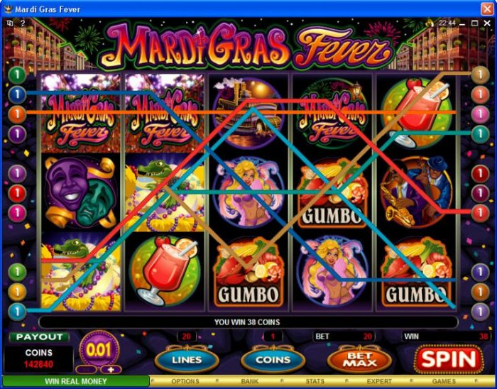 Mardi Gras Fever by All Online Pokies