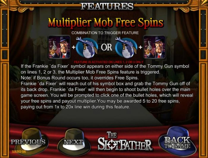 multiplier mob free spins rules - All Online Pokies