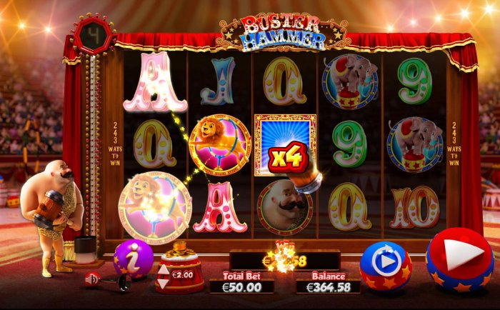 All Online Pokies image of Buster Hammer