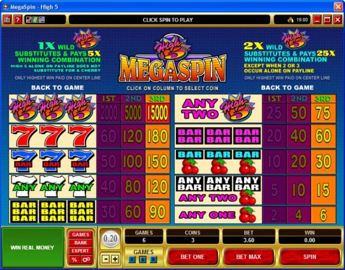 All Online Pokies image of MegaSpin - High 5