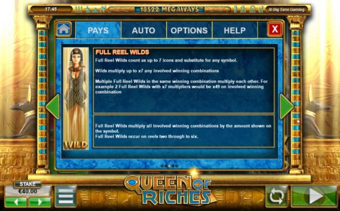 Queen of Riches by All Online Pokies