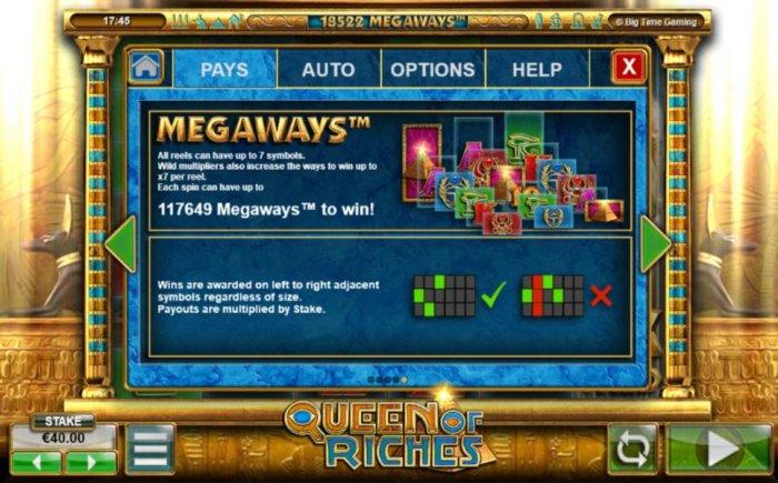 Queen of Riches screenshot