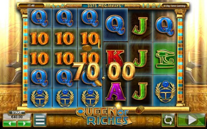 All Online Pokies image of Queen of Riches