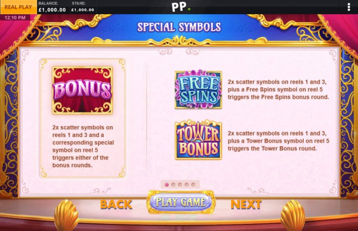 All Online Pokies image of Lucky Cabaret