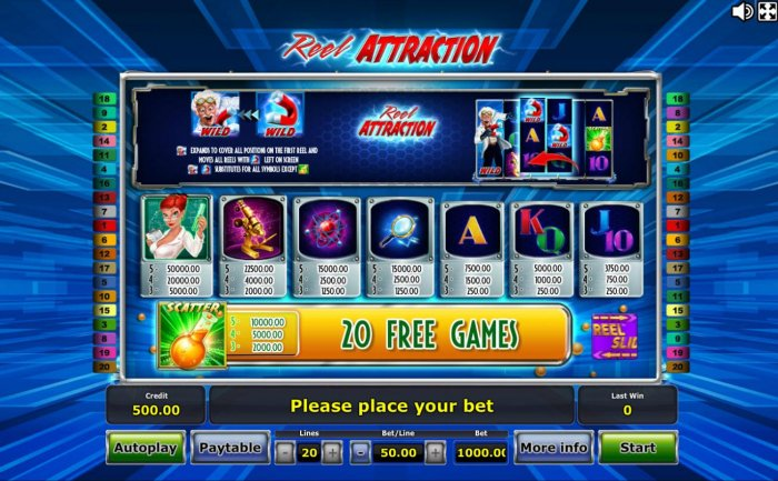 All Online Pokies image of Reel Attraction