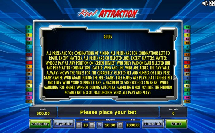 Reel Attraction by All Online Pokies