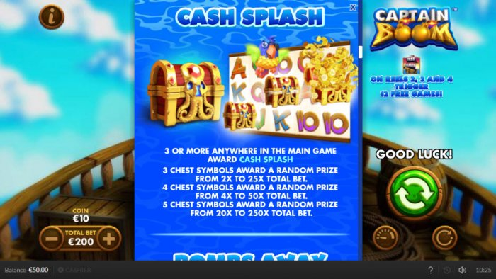Cash Splash - All Online Pokies