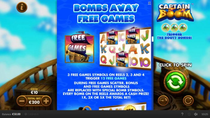 Bombs Away Free Games by All Online Pokies