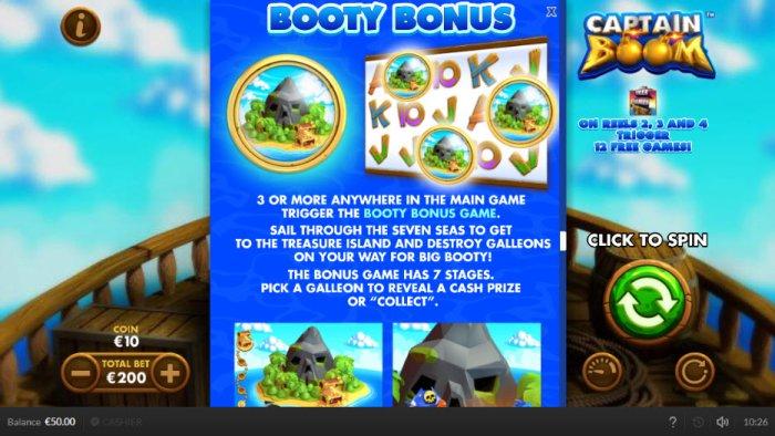 All Online Pokies image of Captain Boom