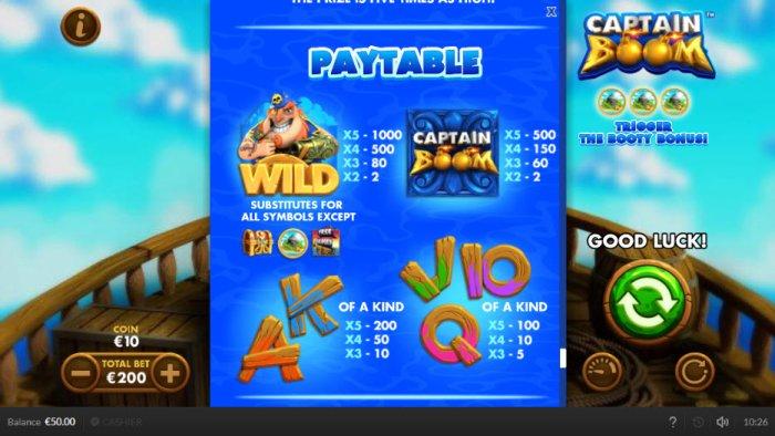 Captain Boom screenshot